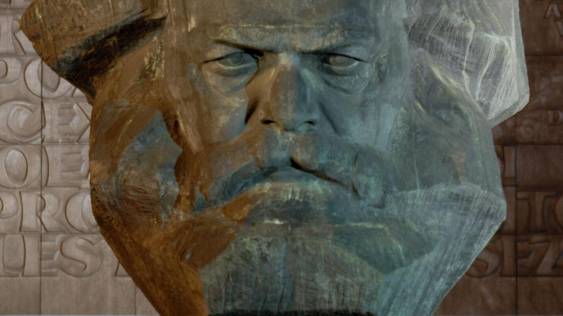Karl-Marx-Monument in Chemnitz - SNA, 1920, 07.10.2021