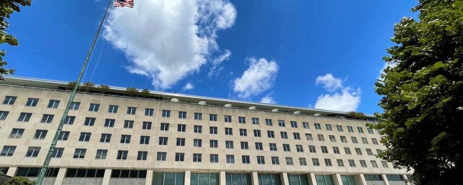 Gebäude des US-Außenministeriums in Washington - SNA, 1920, 07.10.2021