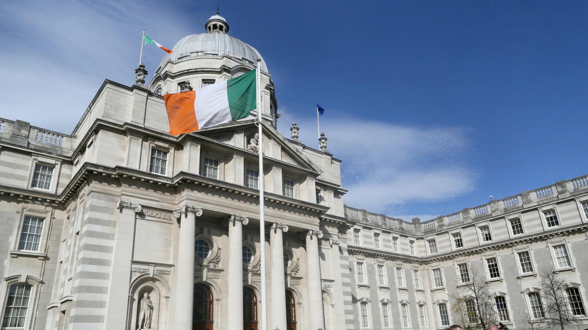 Das Gebäude der irischen Regierung in Dublin (Archivbild) - SNA, 1920, 08.10.2021