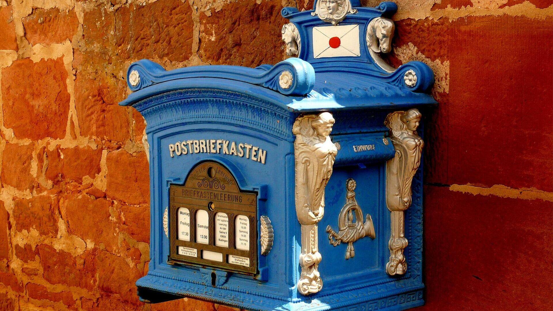 Briefkasten (Symbolbild) - SNA, 1920, 08.10.2021
