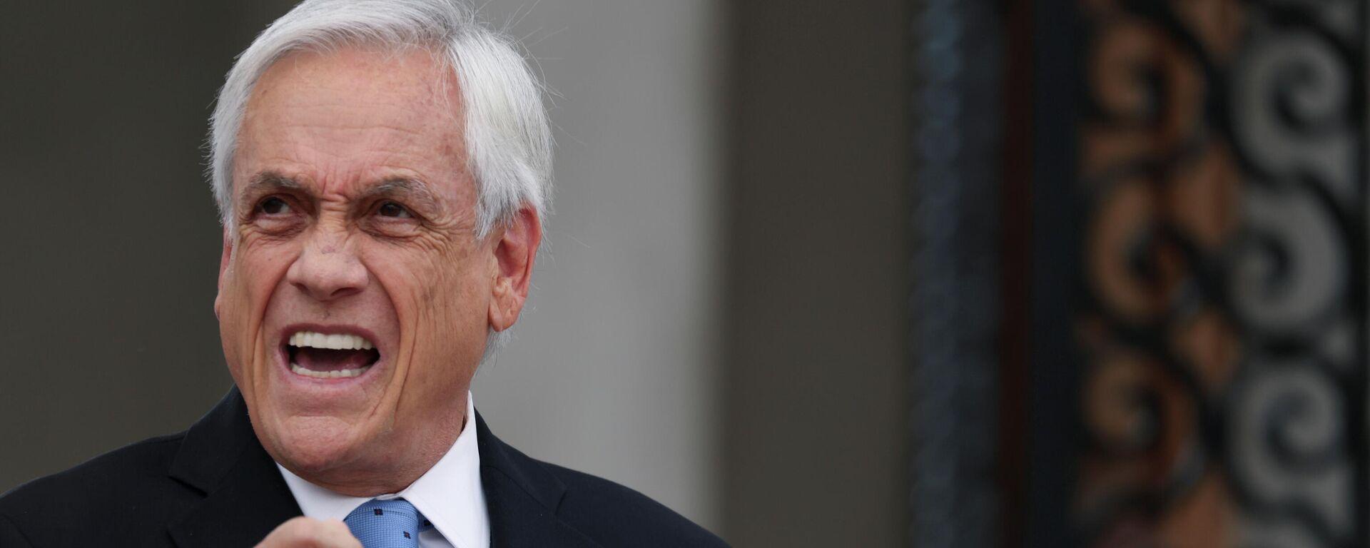 Der chilenische Präsident Sebastián Piñera  - SNA, 1920, 09.10.2021