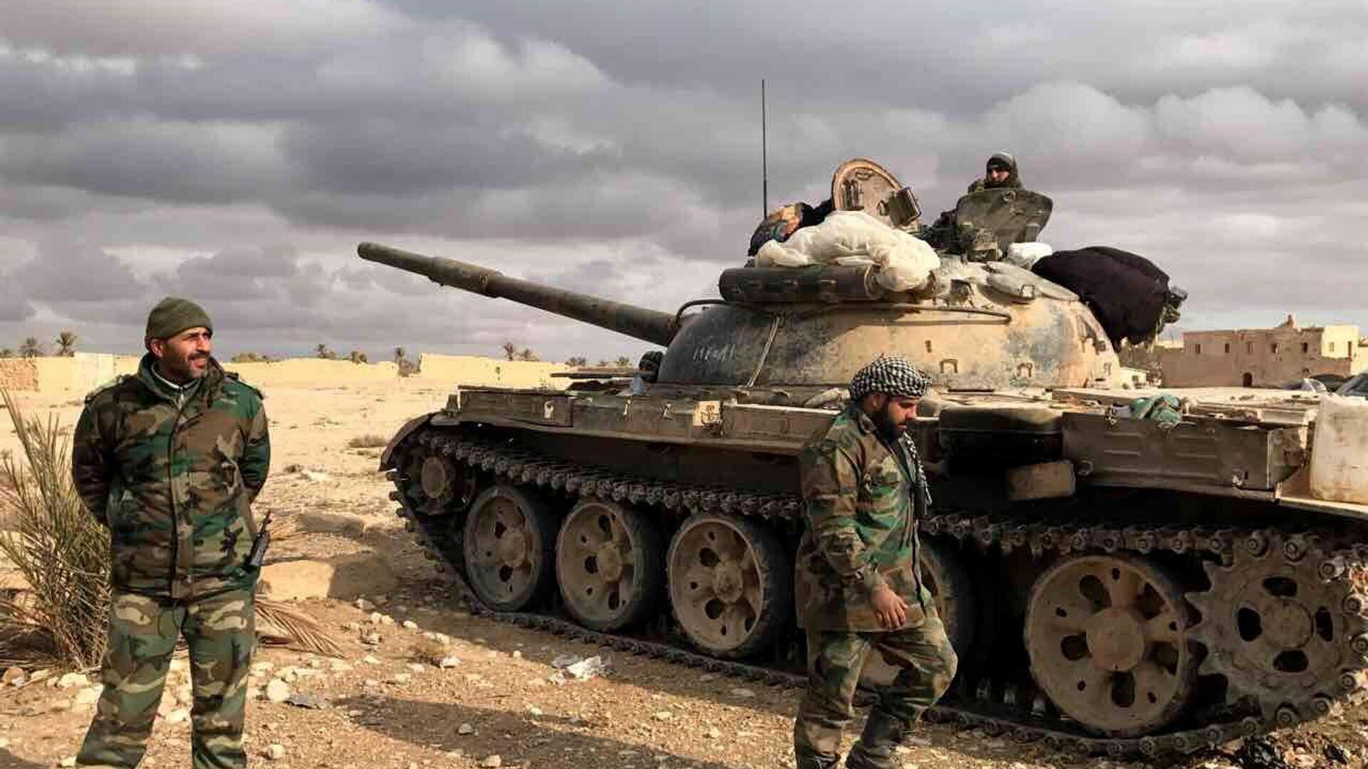Syrische Soldaten in der Provinz Homs (Archivbild) - SNA, 1920, 09.10.2021
