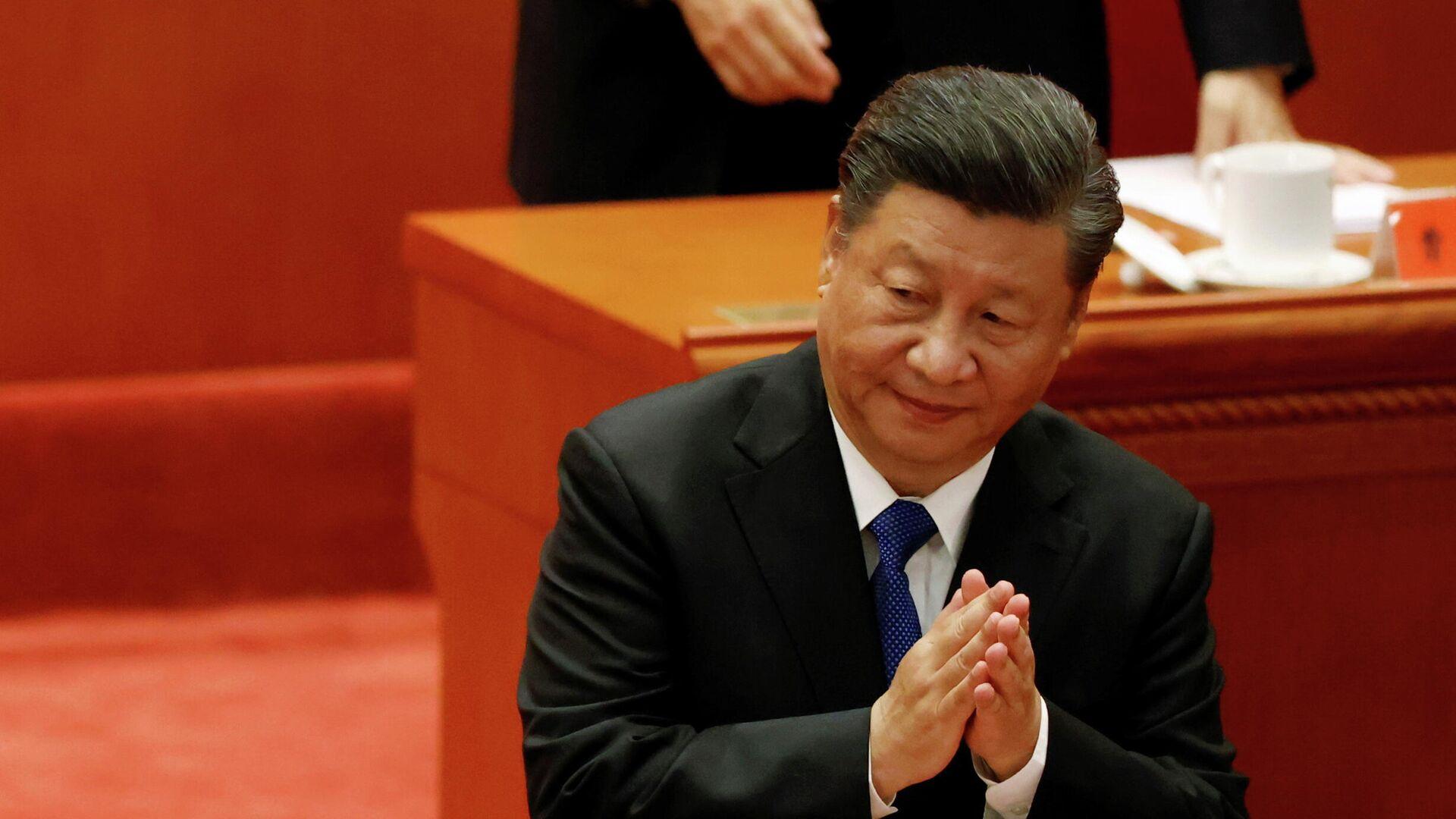 Der chinesische Staatspräsident Xi Jinping  - SNA, 1920, 09.10.2021