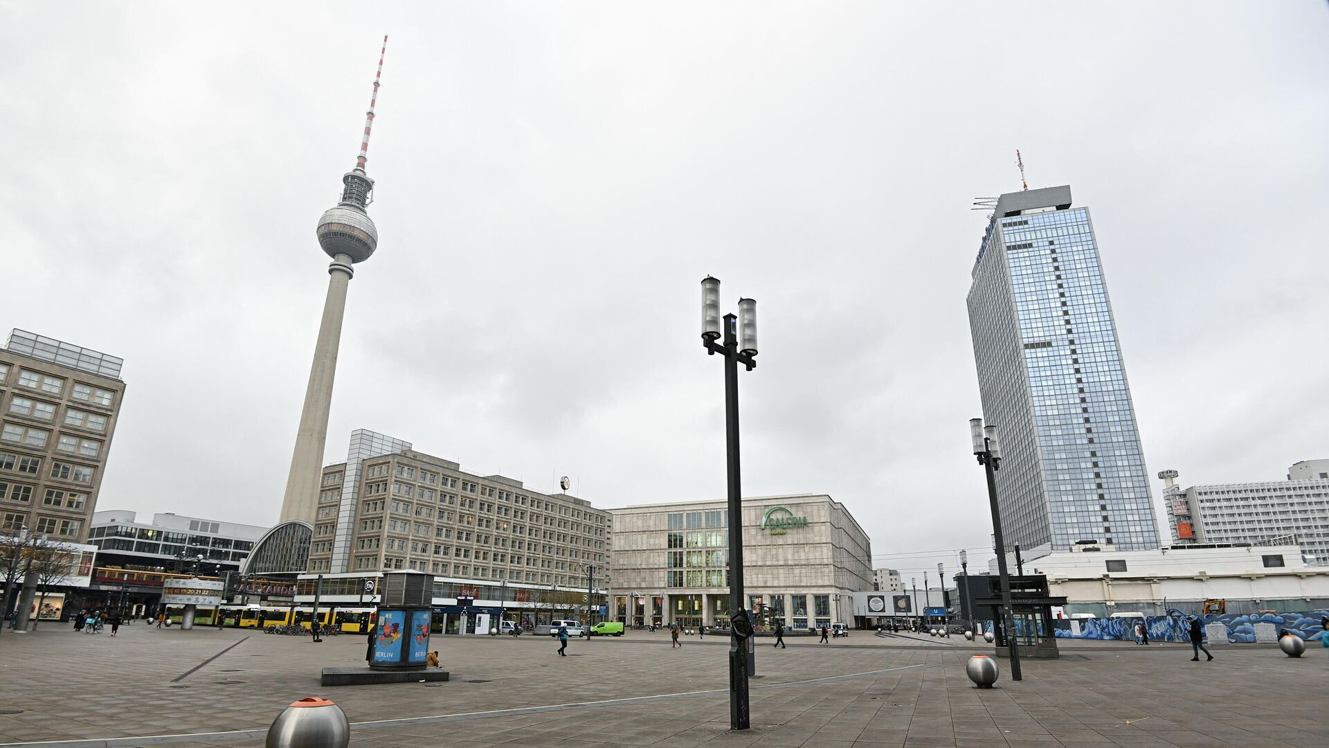 Der Alexanderplatz in Berlin (Archivbild) - SNA, 1920, 10.10.2021
