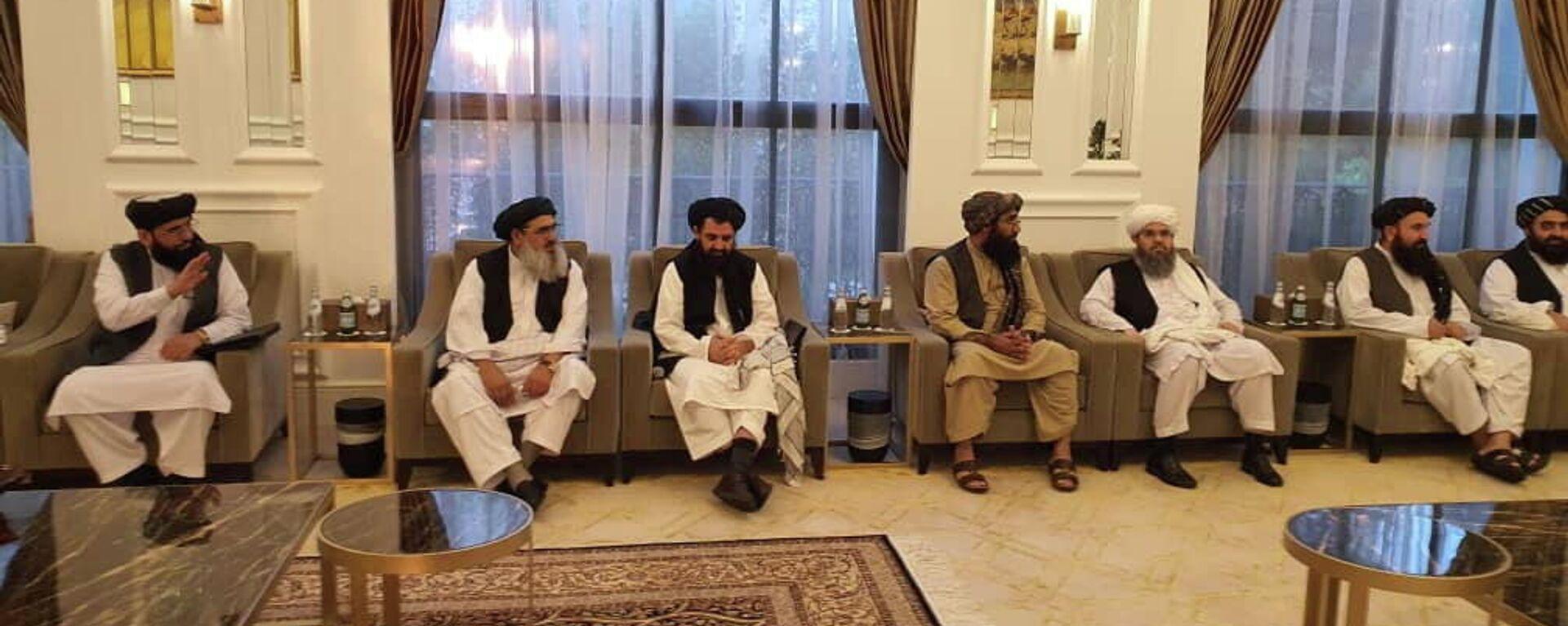 Taliban-Delegation in der katarischen Hauptstadt Doha - SNA, 1920, 11.10.2021