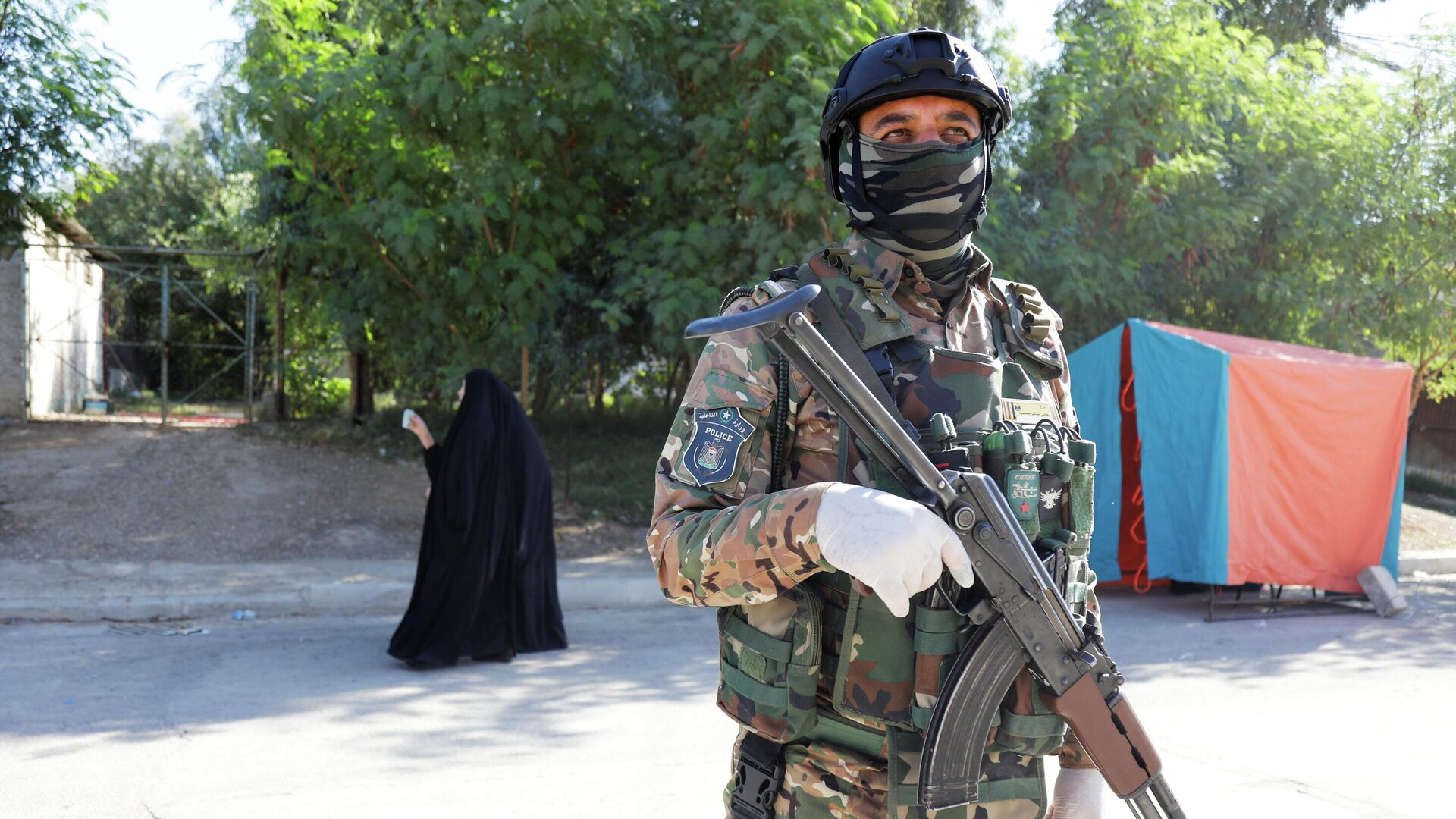 Irakische Sicherheitskräfte  - SNA, 1920, 11.10.2021