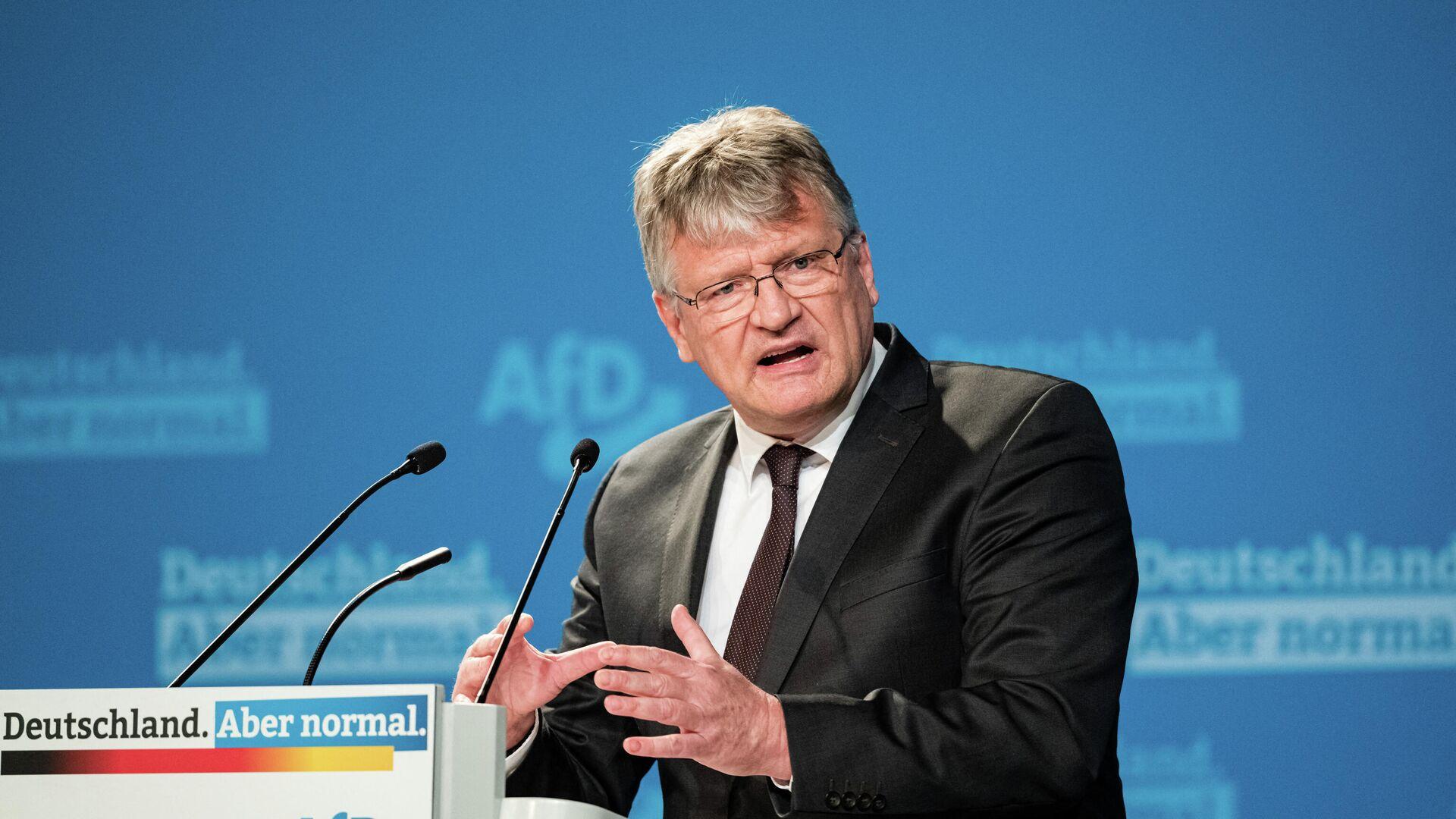 AfD-Politiker Jörg Meuthen - SNA, 1920, 11.10.2021