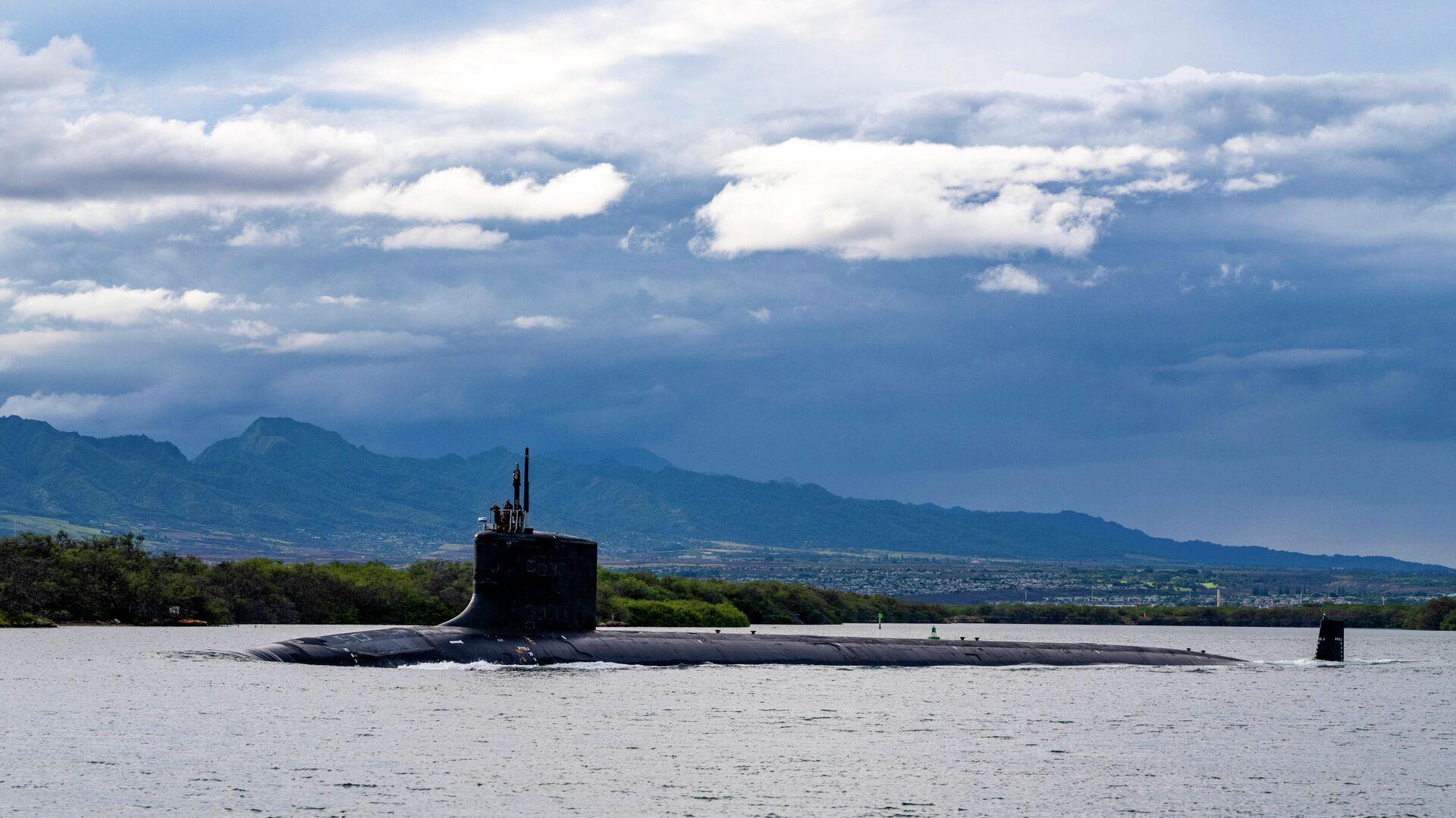 Das nuklear getriebene U-Boot USS Missouri (SSN 780) der Virginia-Klasse  - SNA, 1920, 11.10.2021