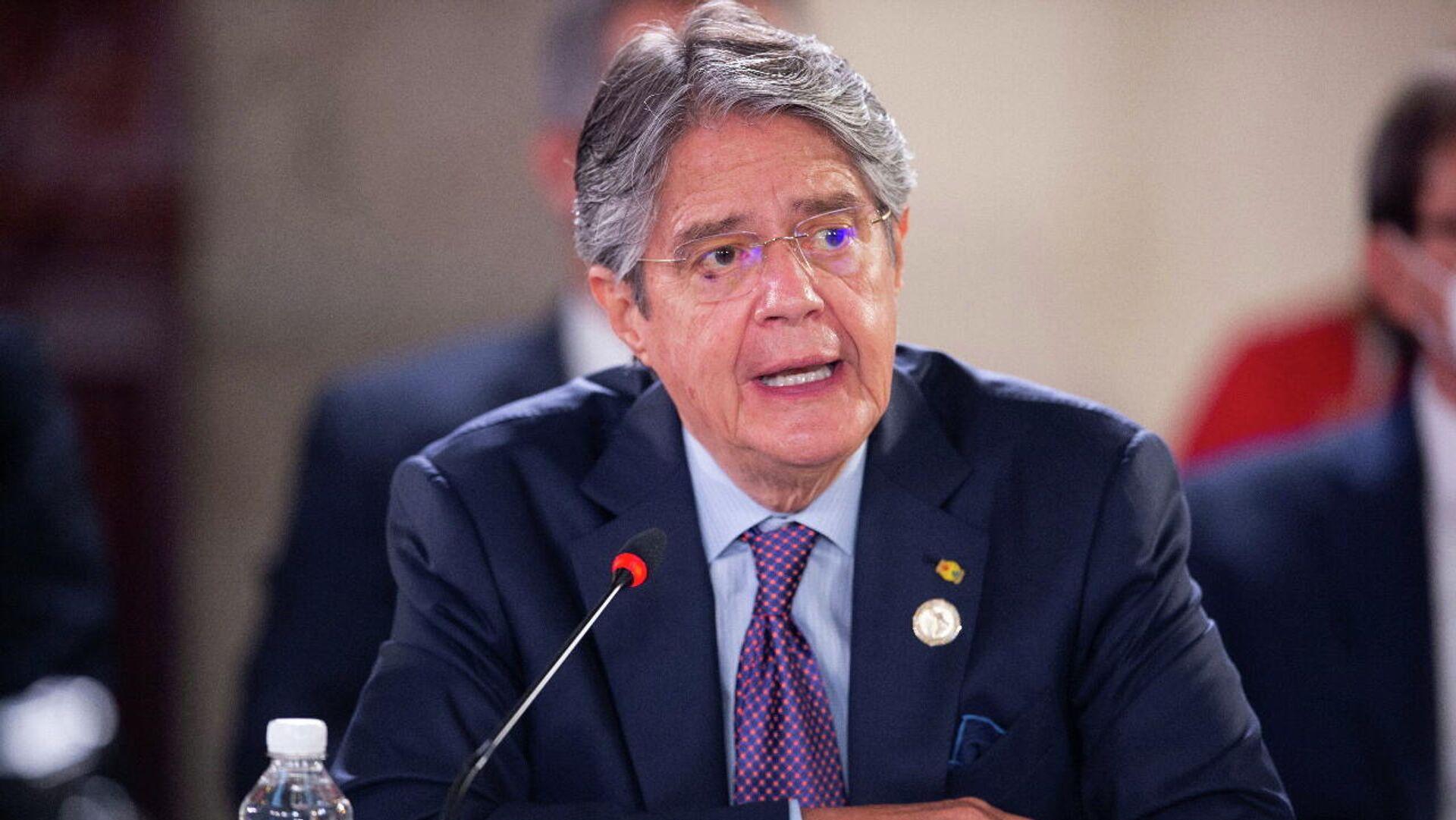 Ecuadors President Guillermo Lasso - SNA, 1920, 11.10.2021