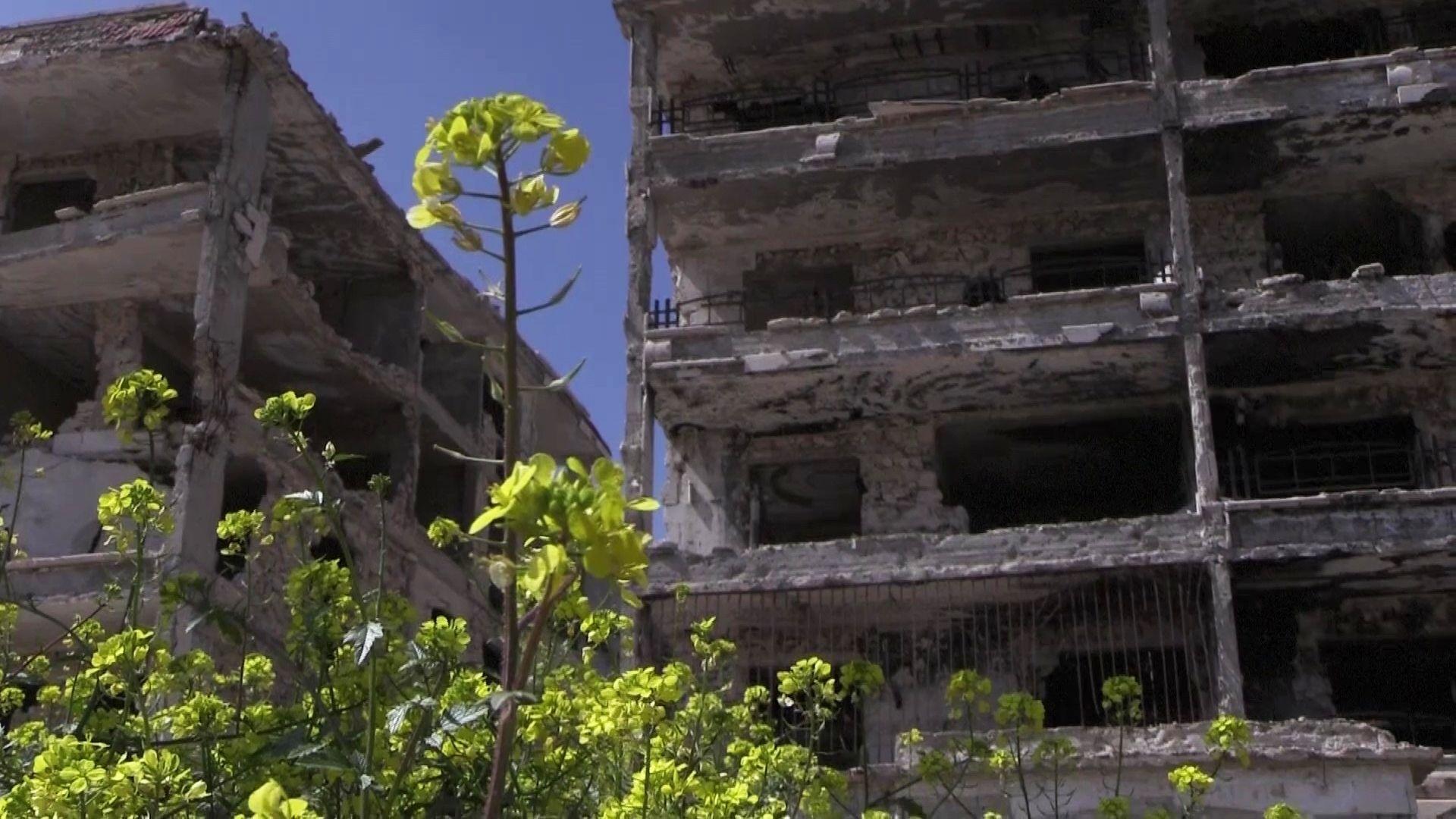 Zerstörte Häuser in der Gegend von Al-Hamdaniya am Stadtrand von Aleppo (Archivbild) - SNA, 1920, 11.10.2021