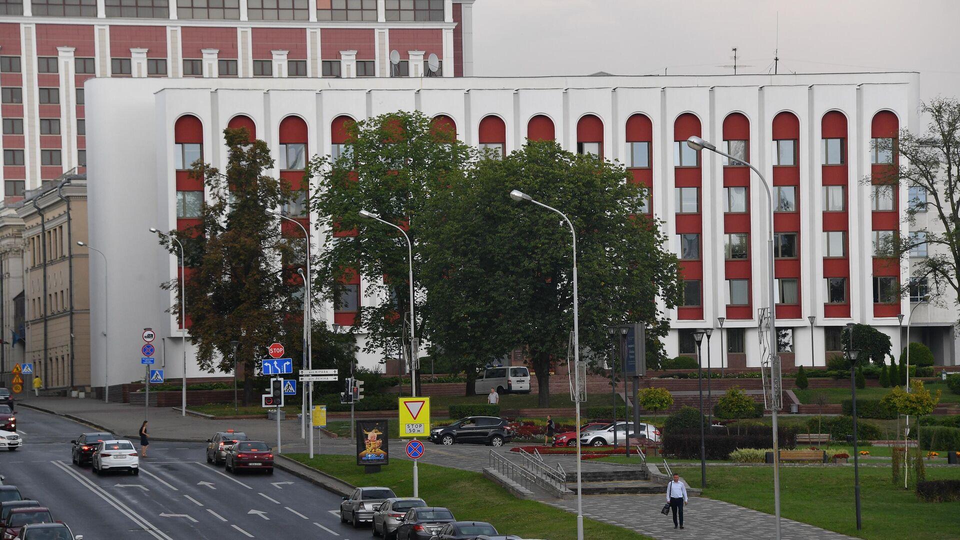 Außenministerium Weißrusslands in Minsk (Archiv) - SNA, 1920, 11.10.2021