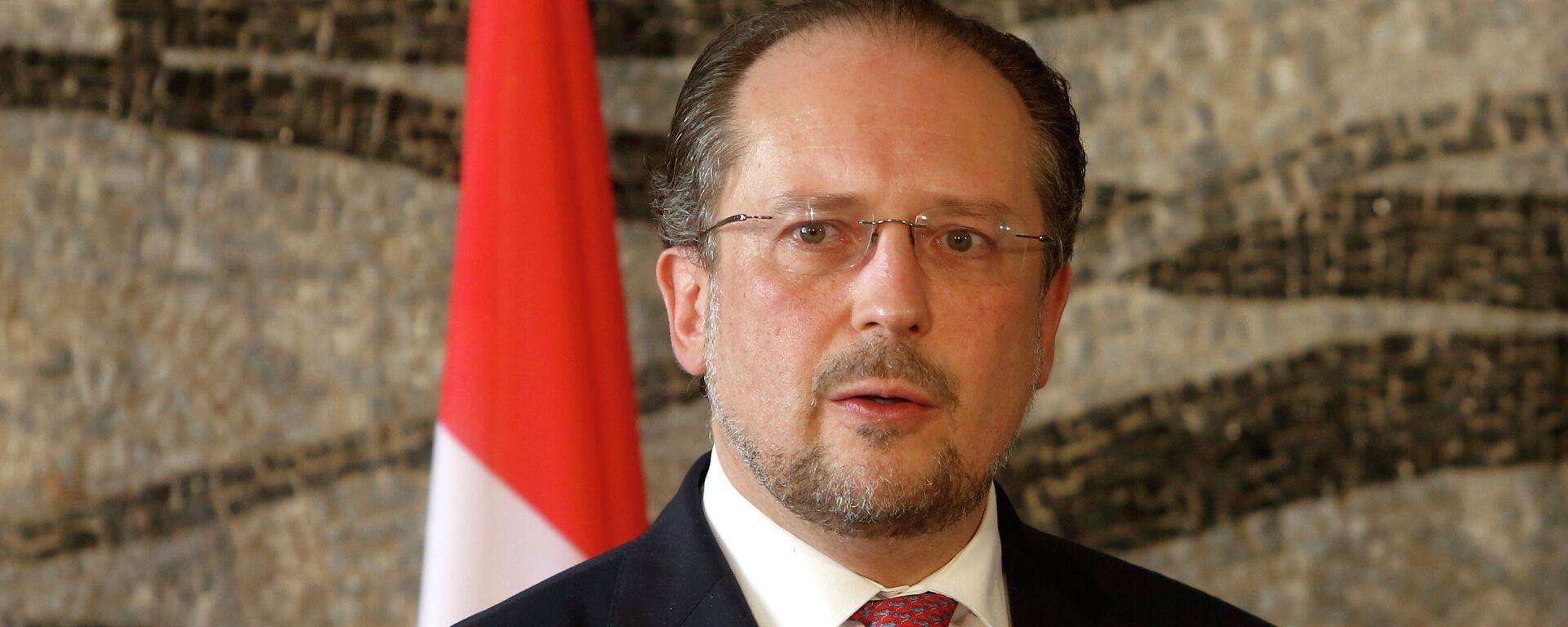 Ex-Außenminister Alexander Schallenberg wurde am  11. Oktober 2021 als Österreichs Bundeskanzler vereidigt (Archiv) - SNA, 1920, 11.10.2021