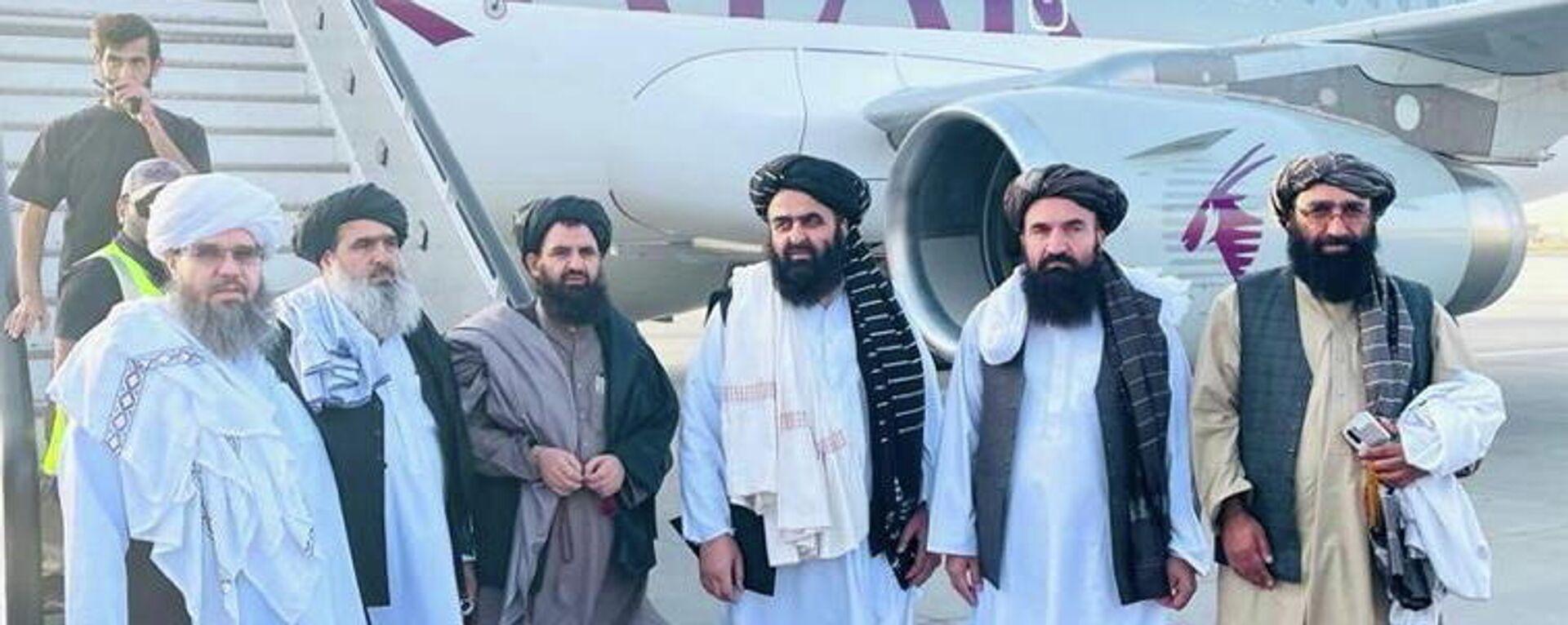 Taliban Delegation - SNA, 1920, 11.10.2021