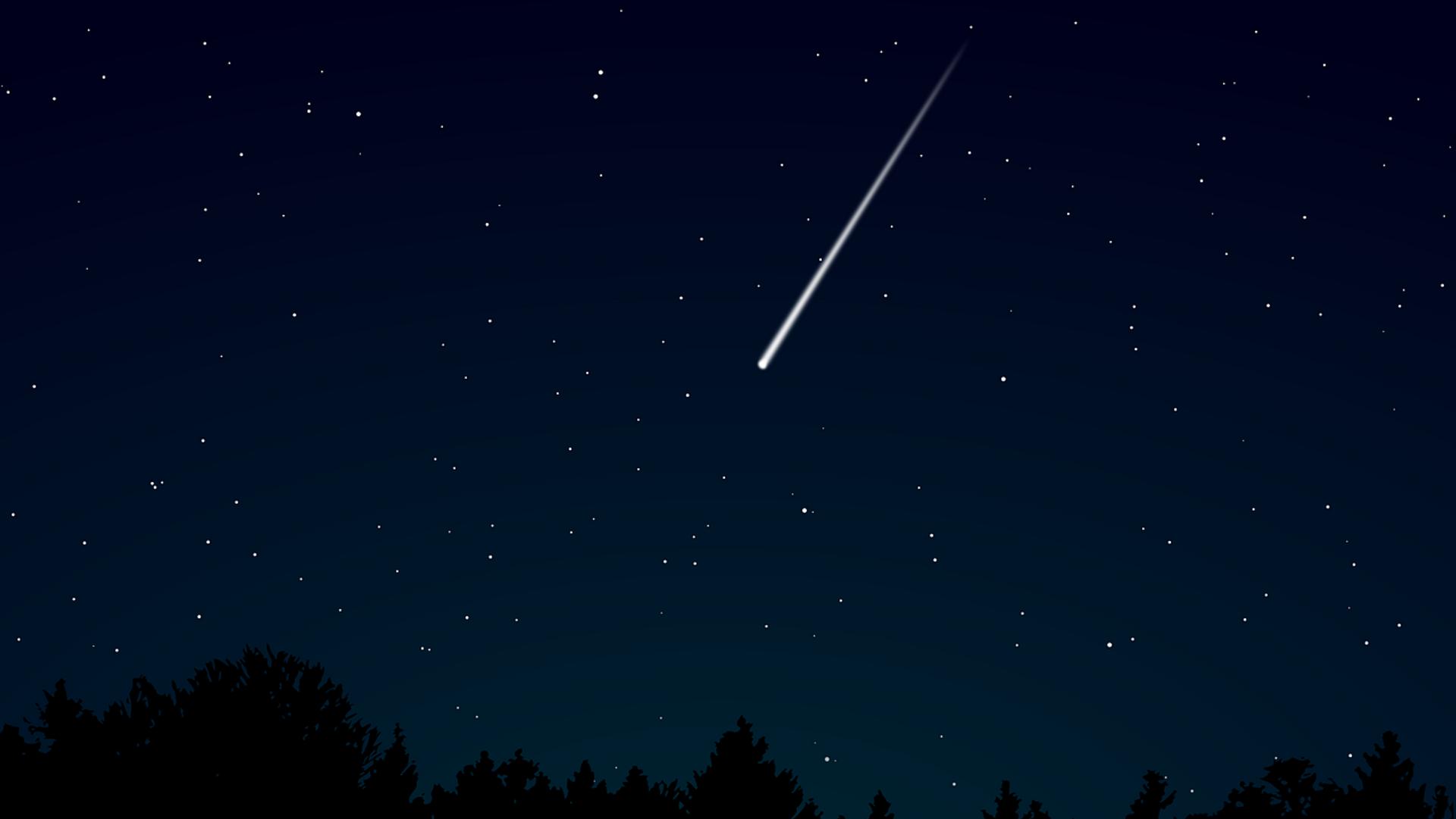 Meteor (Symbolbild) - SNA, 1920, 12.10.2021