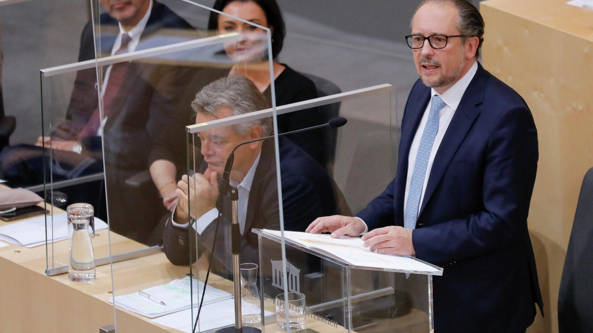 Der neue österreichische Kanzler hält die Rede im Parlament - SNA, 1920, 12.10.2021