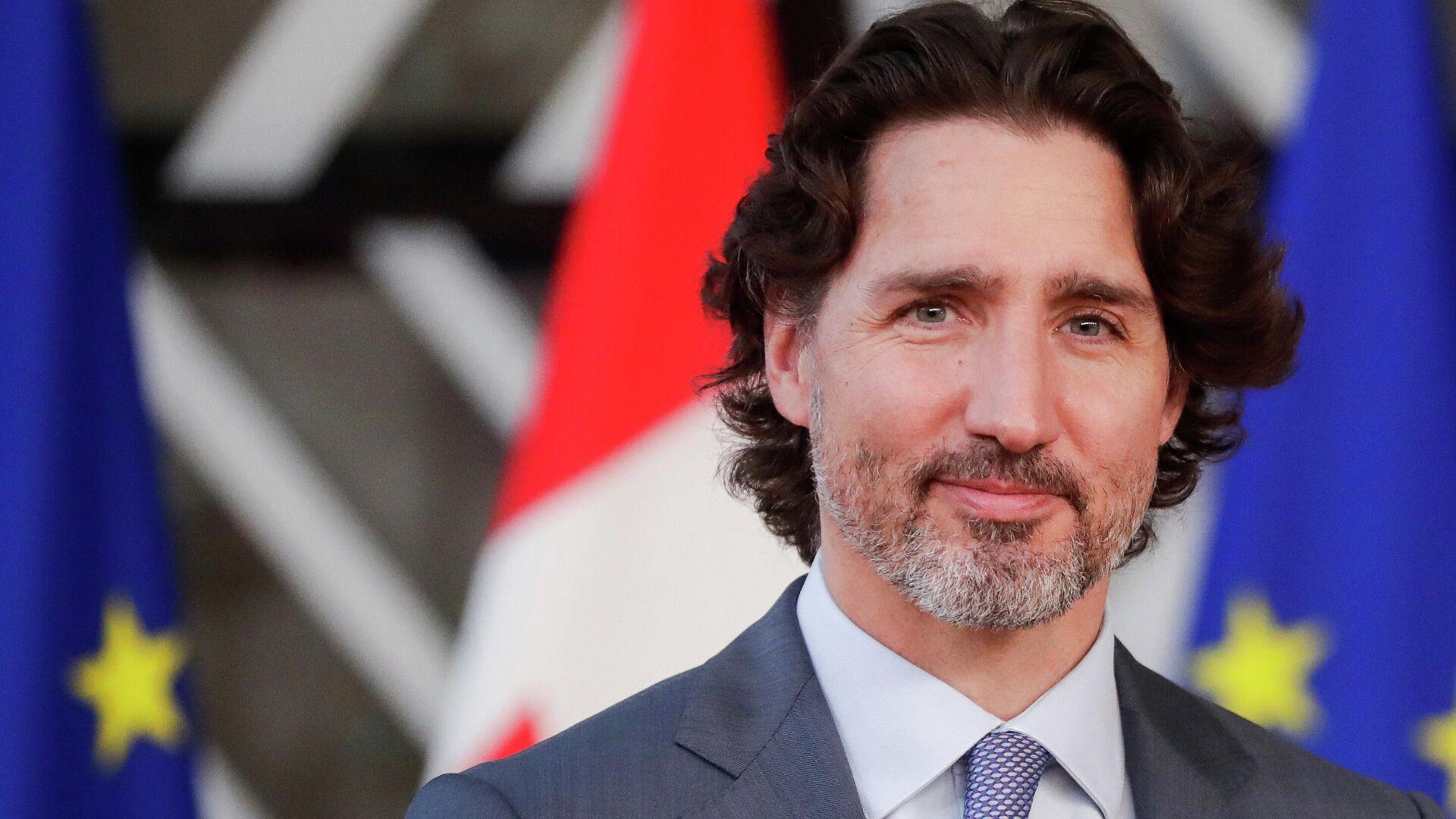 Kanadischer Premierminister Justin Trudeau - SNA, 1920, 13.10.2021