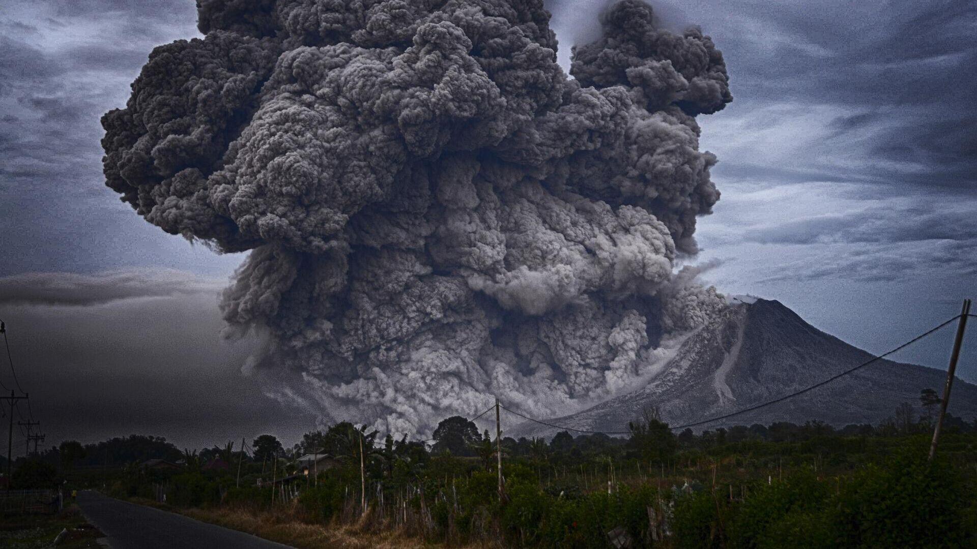 Vulkan (Symbolbild) - SNA, 1920, 13.10.2021