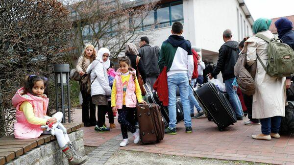 Flüchtlinge in Deutschland  - SNA