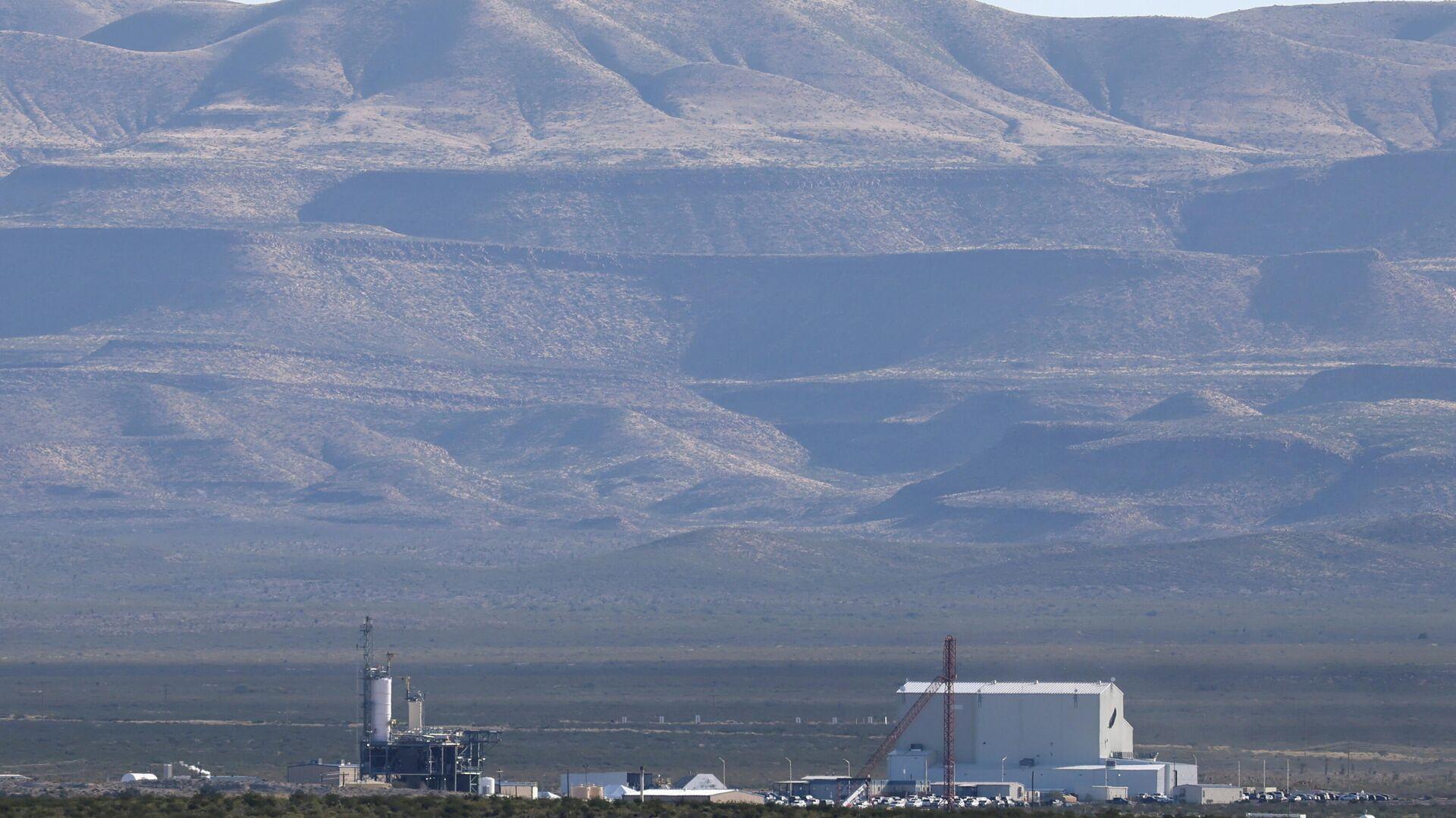 """Jeff Bezos' """"Blue Origin""""-Raumschiff startet von Texas - SNA, 1920, 13.10.2021"""