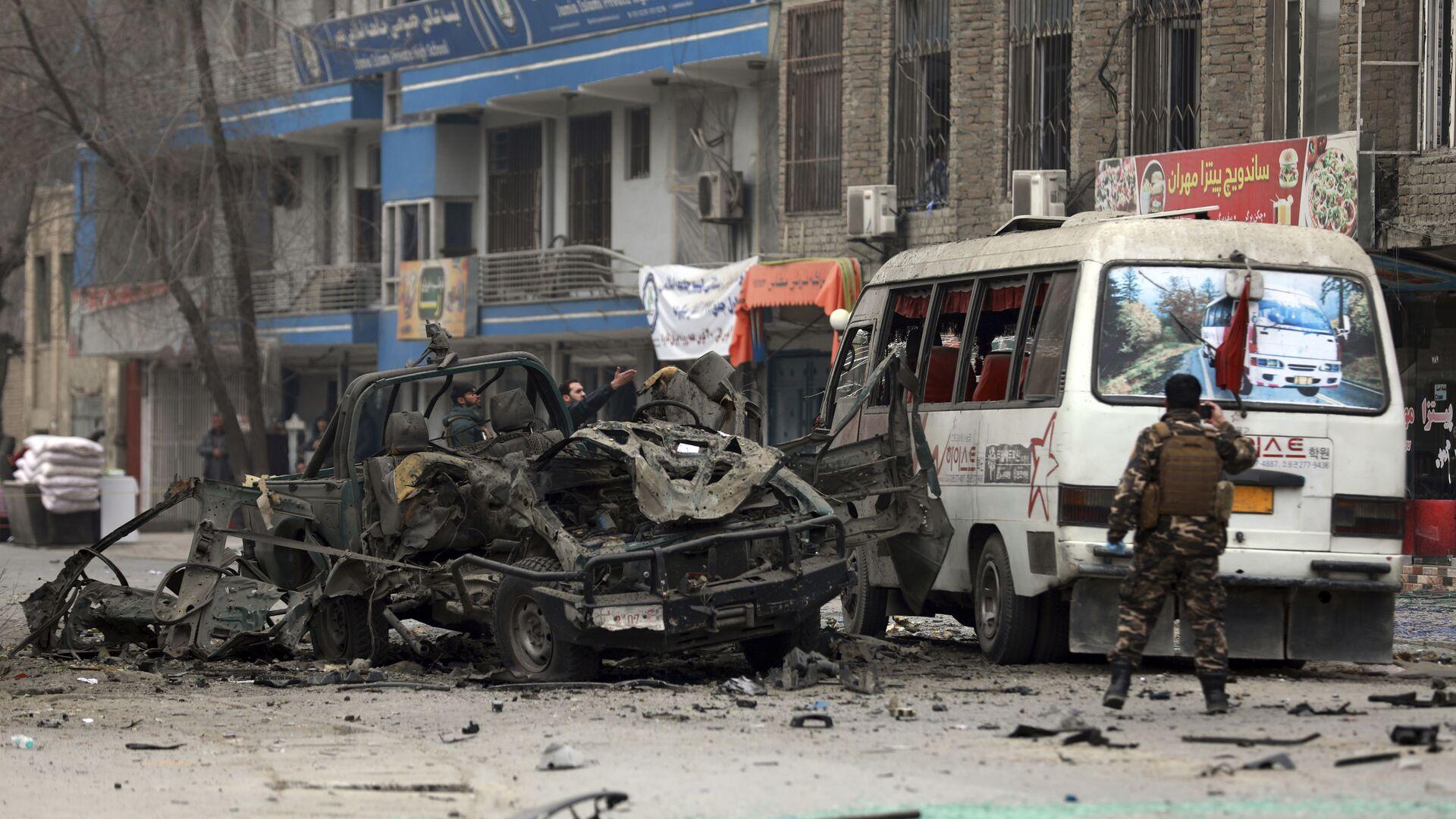 Die Nachwirkungen der Bombenanschläge in Kabul (Archivbild) - SNA, 1920, 14.10.2021