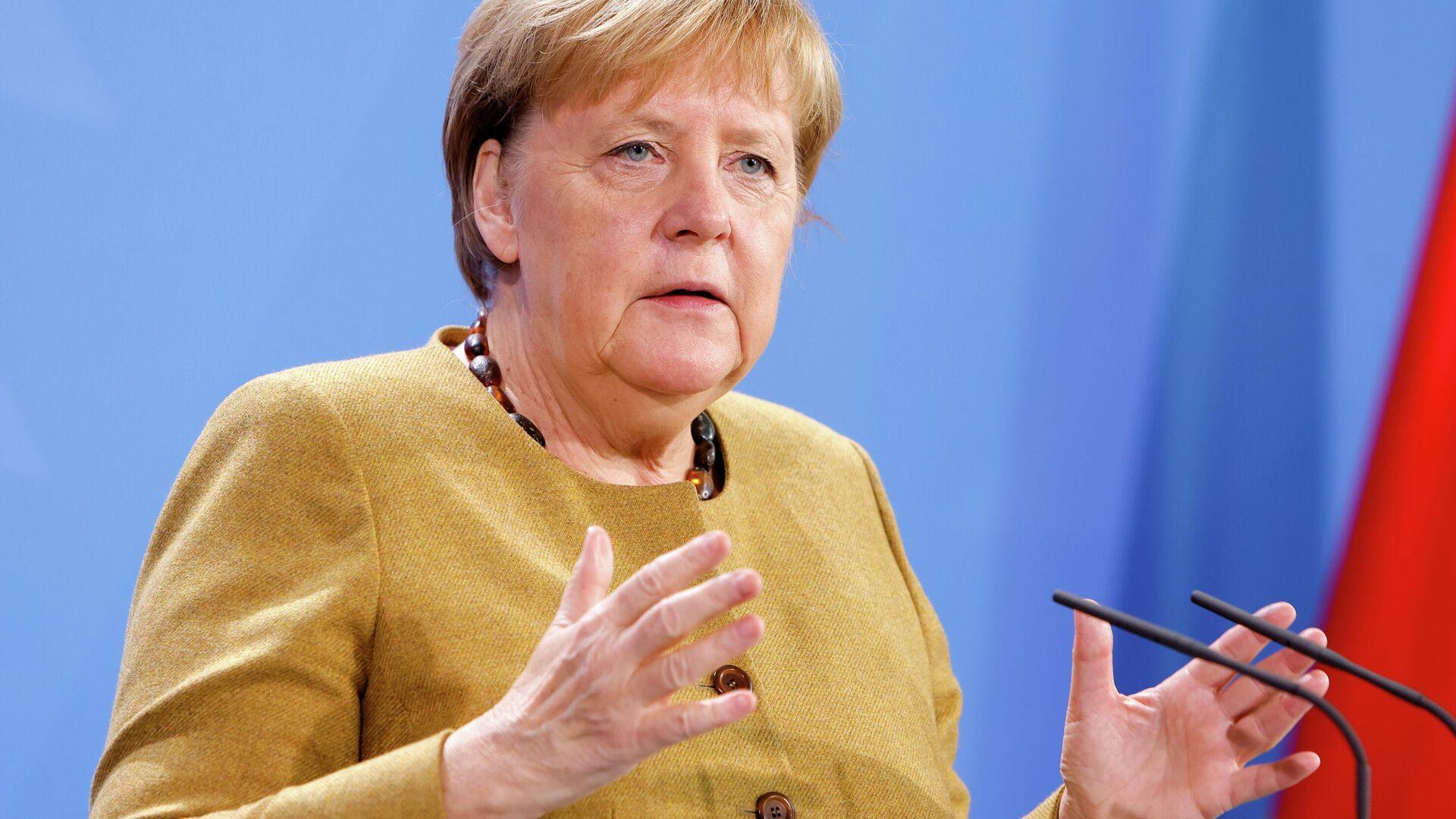 Bundeskanzlerin Angela Merkel (Archiv) - SNA, 1920, 14.10.2021