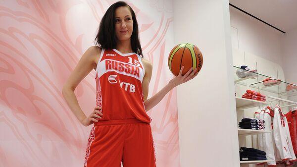 Баскетболистка женской сборной России Екатерина Лисина в Москве  - SNA