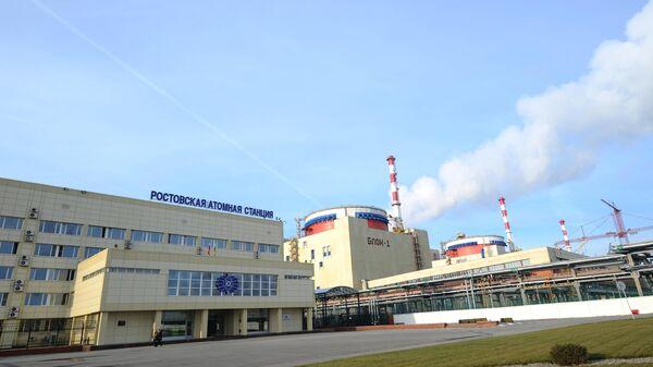 Atomkraftwerk Rostow bei Wolgodonsk im Süden Russlands (Archiv) - SNA