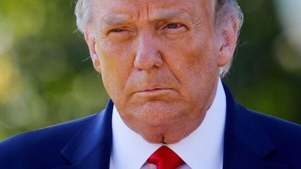 Der ehemalige US-Präsident Donald Trump - SNA