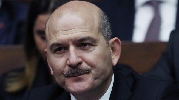Der türkische Innenminister Suleyman Soylu - SNA