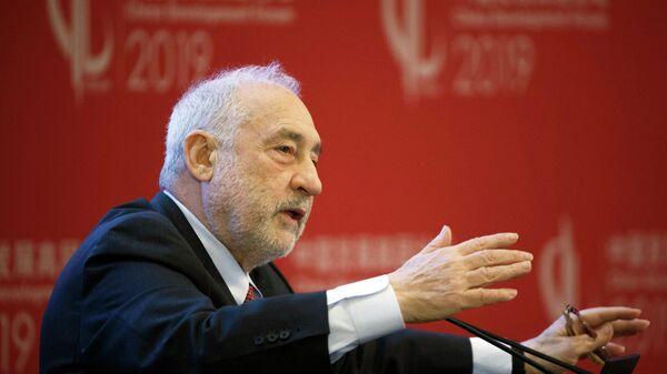 US-Wirtschaftsnobelpreisträger und Ex-Chefökonom der Weltbank Joseph Stiglitz  - SNA
